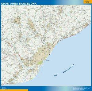 Mapa Barcelona Cercanías