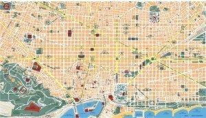 barcelona eps mapa